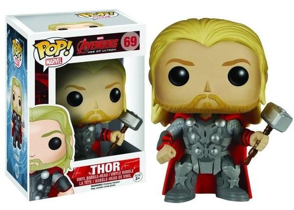 Figurine Pop Thor Avengers : L'Ère d'Ultron - N°69 @ReferenceGaming