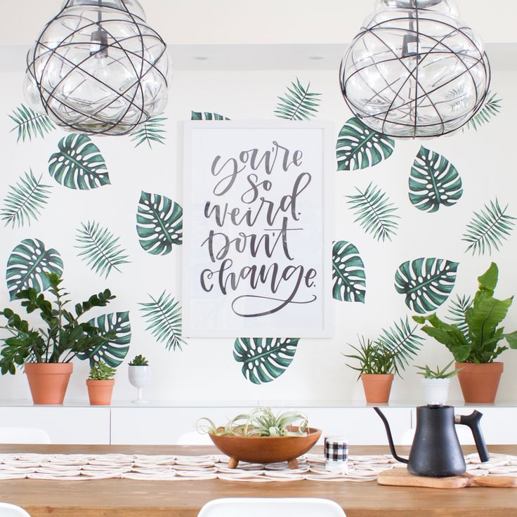 Style Board | Palm Branches - Urban Walls