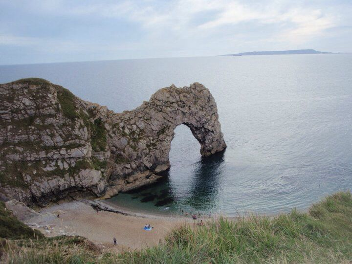 Durdle Door...worth the terrifying steps down