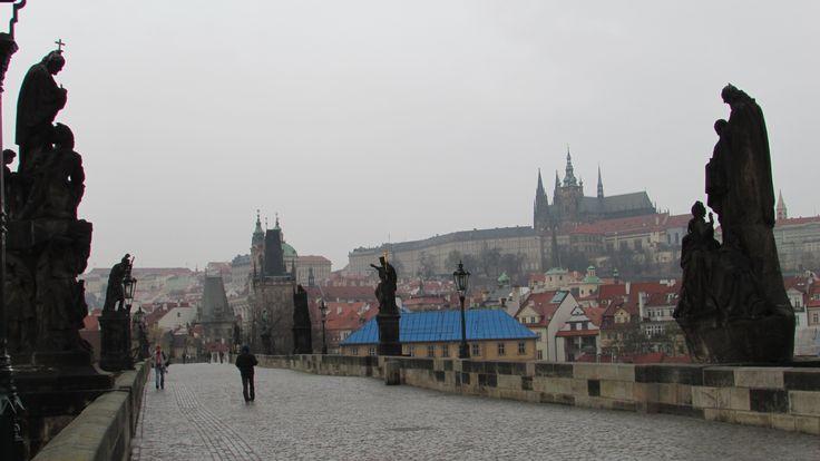 Карлов мост я могу снимать бесконечно... Мое самое любимое место в Праге - ранним утром, вечером или ночью, ибо мало народа. ))