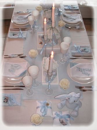 Best 20 deco table bapteme garcon ideas on pinterest - Deco de bapteme garcon ...