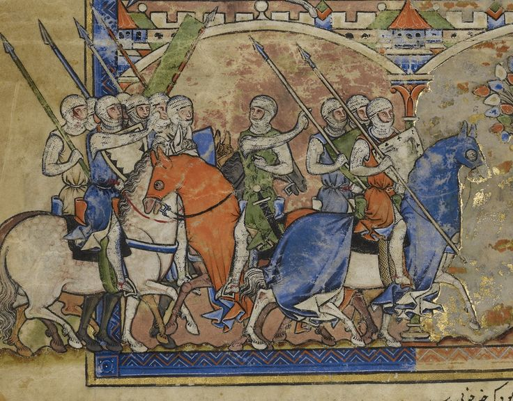 """Detail of """"Leaf from the Morgan Picture Bible"""", Ms. Ludwig I 6 by unknown creator, France ca. 1250 via Getty Open Content Program """"Open content images are digital surrogates of works of art that are in the Getty's collections and in the public..."""
