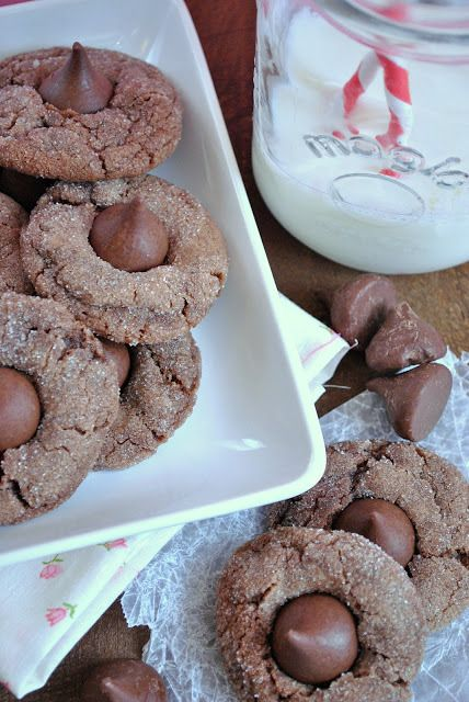 Nutella Kiss Cookies - Something Swanky