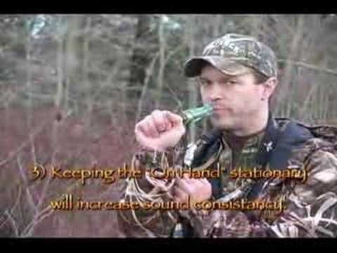 Short Reed Goose Call Introduction