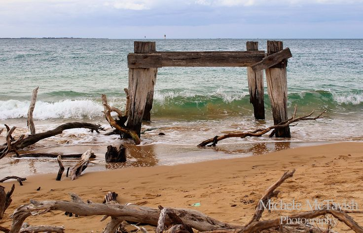 Cattle Jetty . Point Nepean