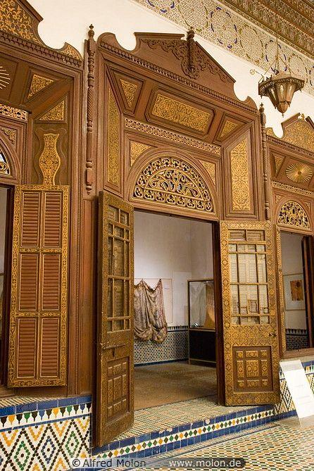 Decorated Wooden Door With Carvings Wooden Doors Wood