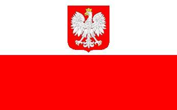 [State Flag of Poland]