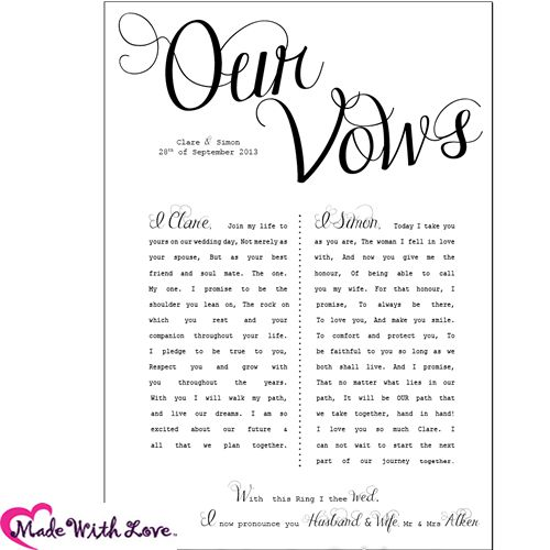 Wedding Vow Ideas For Groom: Funny Wedding Vows Make Your Guests Happy-cry