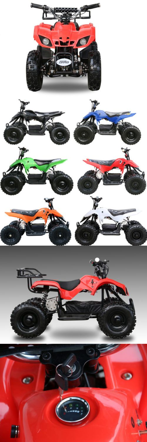 Complete Go-Karts and Frames 64656: 500W Electric Children Youth Atv Quad Kids 4 Wheeler 12V 2Xbattery Gift Toy Usa -> BUY IT NOW ONLY: $535 on eBay!