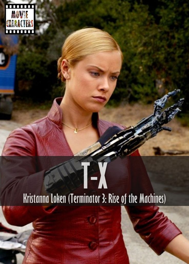 TX Played By Kristanna Loken Film Terminator 3 Rise of