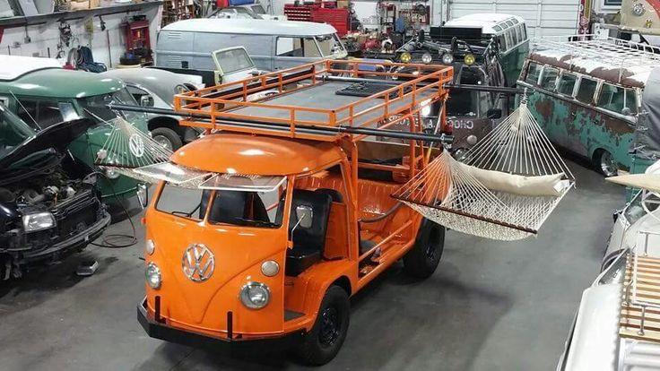 VW Camper Bus hammock