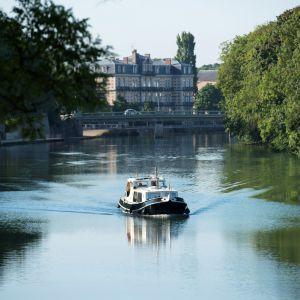 Le fleuve Meuse dans Verdun