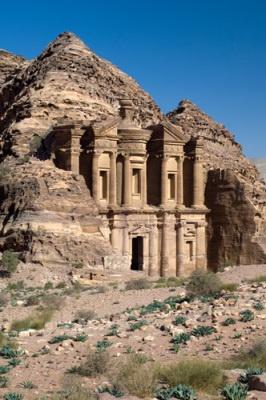 The Monastery, Al Deir, Petra, Jordan  Artist: Sergio Pitamitz