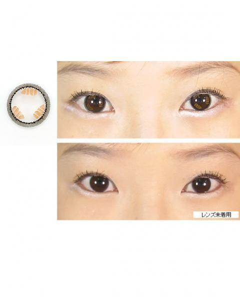 ●アダム ブラウン● この涙レンズは、リングサークルの中に柔らかな色のブラウンが光の反射のように配色されています。リングサークルは、内側に濃い色、外側はごく薄い黒の着色で、より裸眼のように見えるフチ取りにデザインされています。装着したときにアクセントのブラウンは元の瞳の色に重なり、瞳が潤んでいるような効果を生み出します。フチ取りがぼやけて見えるのでクッキリ感は感じられず、より自然なデカ目になれるカラコンです。☆カラコンランド☆