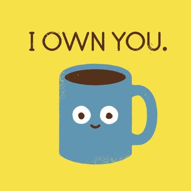 Tumblrcoffeetalk. Designer and illustrator David Olenick is the artist behind a series of sassy food illustrations that get to the meat of how we really think and feel about food.