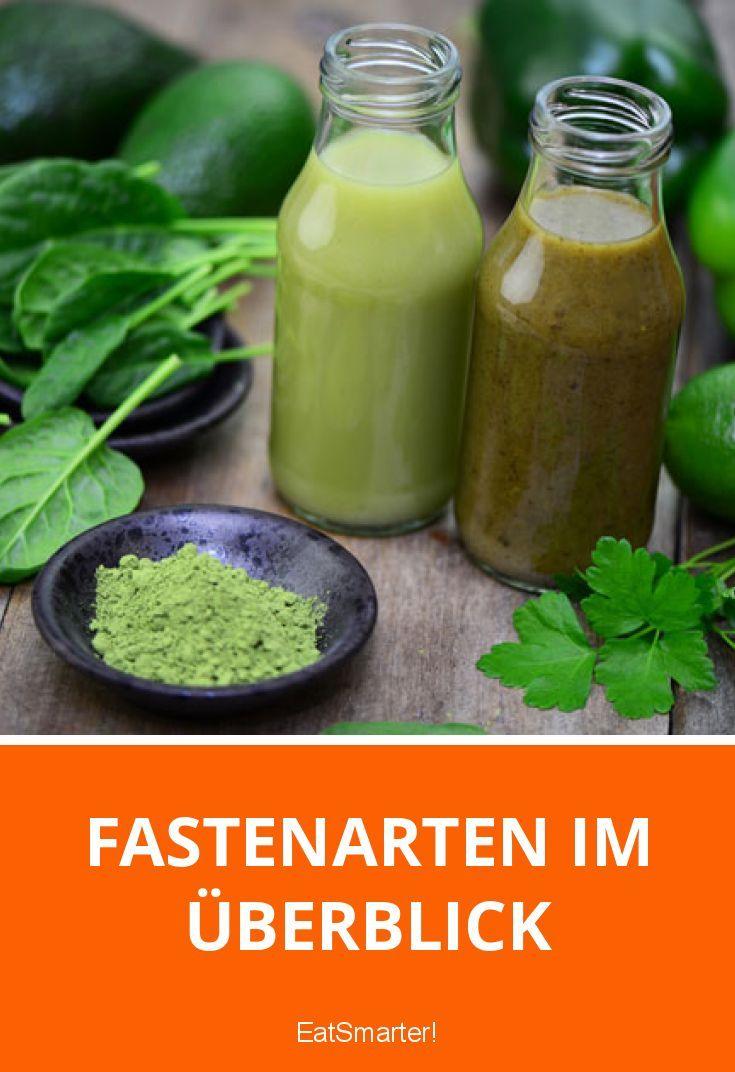 Fasten-Kuren kompakt vorgestellt: von Nullfasten über Heilfasten nach Buchinger bis hin zum Basenfasten