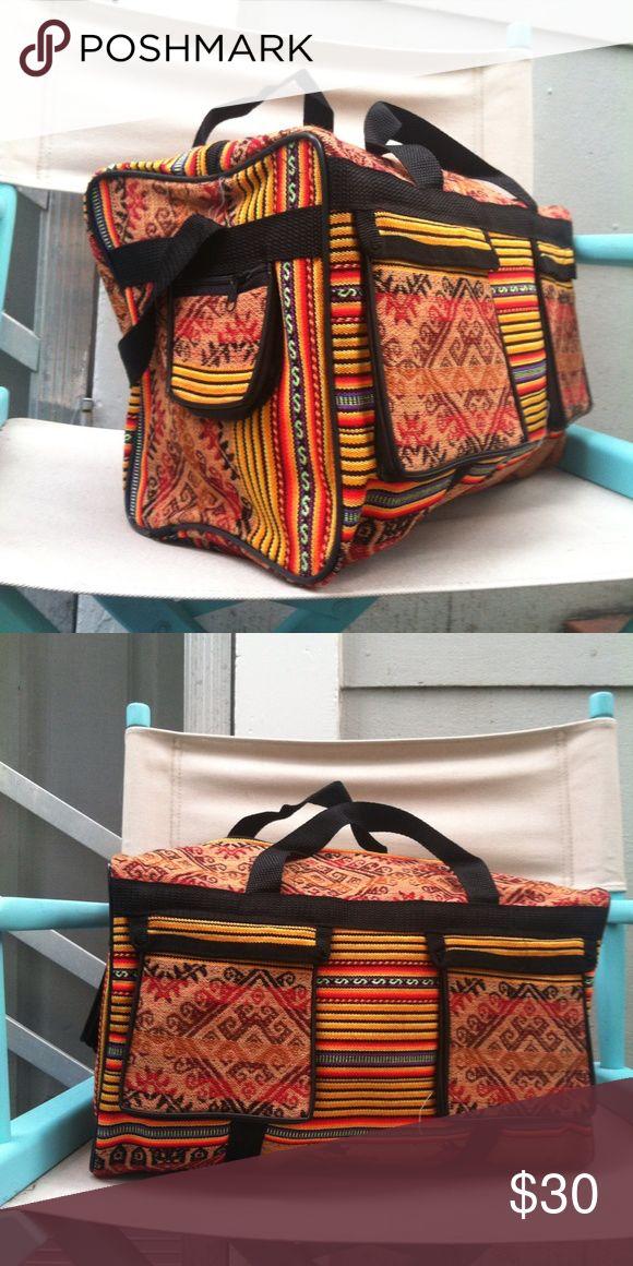 New Gypsy Traveller Duffle Bag New nie benutzt. Handgemacht in Mexiko. 1 große inter …