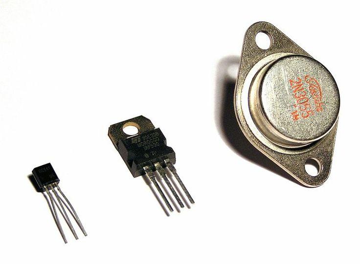 Tranzystor – trójelektrodowy (rzadko czteroelektrodowy) półprzewodnikowy element elektroniczny, posiadający zdolność wzmacniania sygnału elektrycznego.