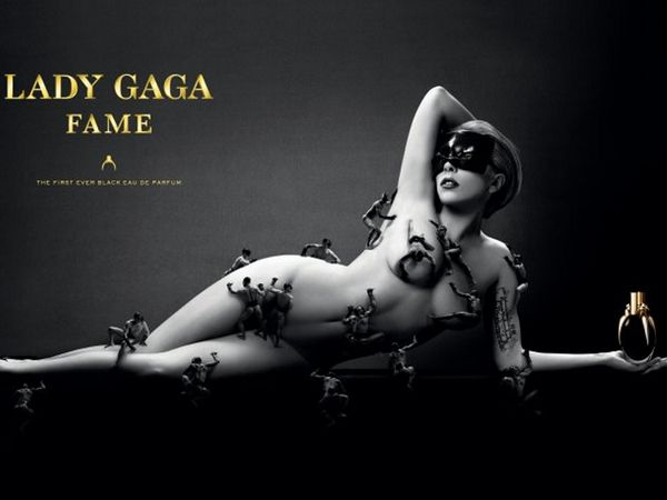 The first official image of the ad for LADY GAGA FAME, souced via…