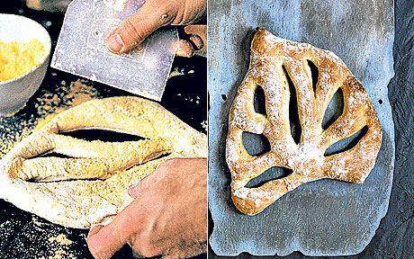 Fougasse bread recipe by Richard Bertinet - Telegraph