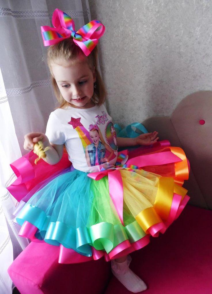 Jojo siwa birthday tutu outfit jojo siwa tutu dress jojo