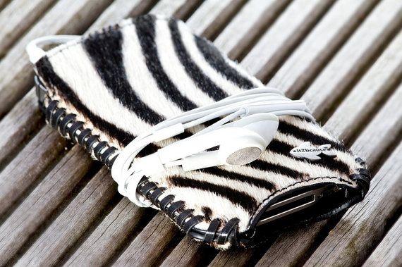 Telefoonhoesje met Zebra print. Geschikt voor iPhone 5 | iPhone 5 hoesje zebra