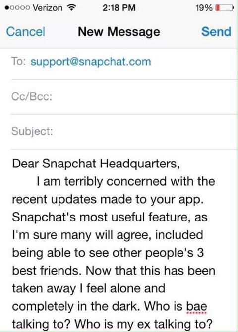 Snapchat is Causing a Lot of Drama