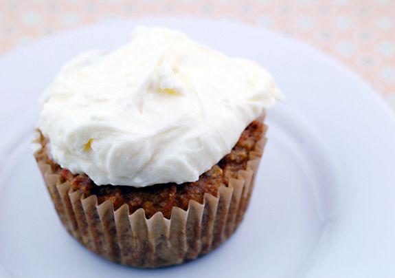 Gluten Free Carrot Cupcake (for Easter)