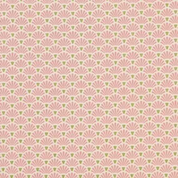 Tilda Flower Fan Pink 480841 Quilt Collection Spring Lake and Apple Bloom - 100% Cotton fabric designed by Tone Finnanger