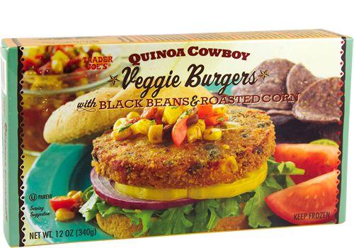 Quinoa Cowboy Veggie Burgers