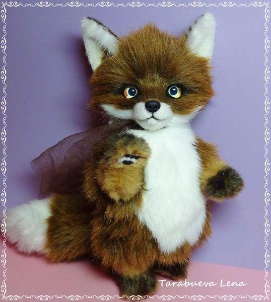 Lucas Fox by By Tarabueva Lena   Bear Pile