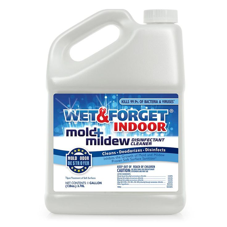 Wet & Forget 1 Gal. Indoor Mold And Mildew Disinfectant