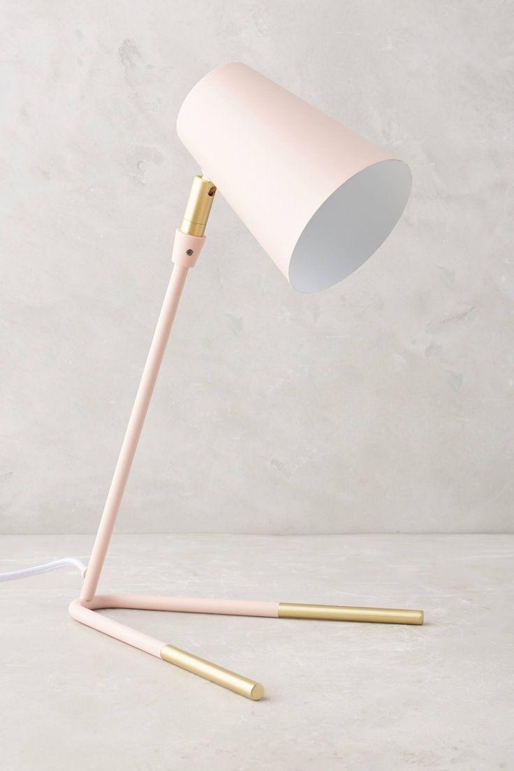 Gold-Dipped Task Lamp
