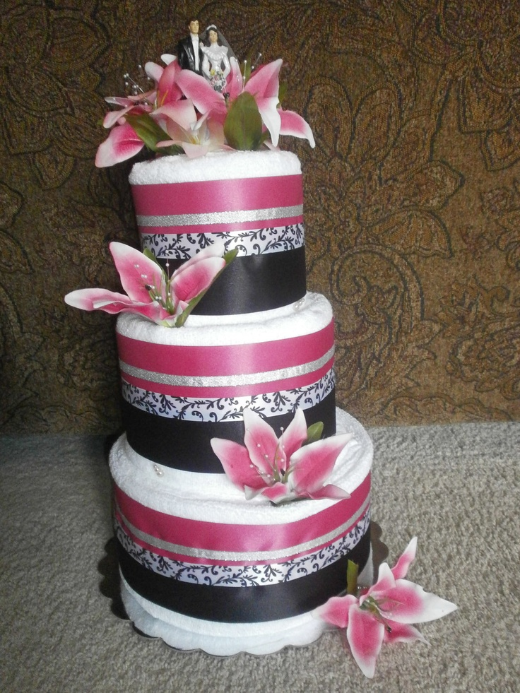 wedding cakes bath 1000 ideas about wedding towel cakes on towel 23866