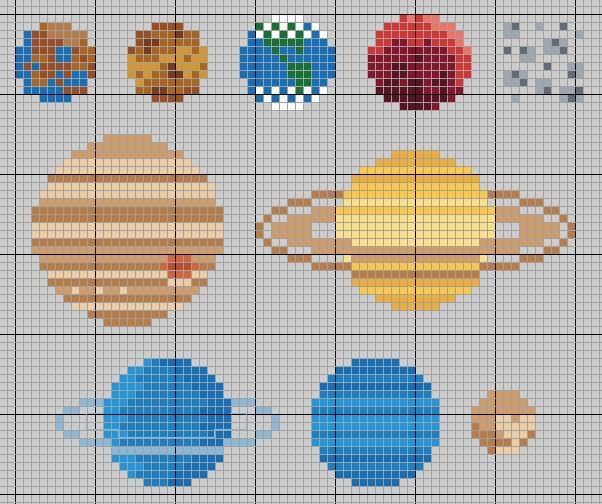 53 best quilts space and science images on pinterest for Solar system quilt pattern
