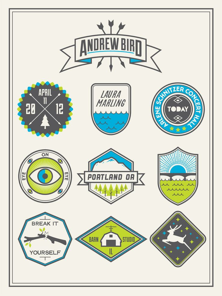 Andrew Bird Poster by Stewart Scott-Curran
