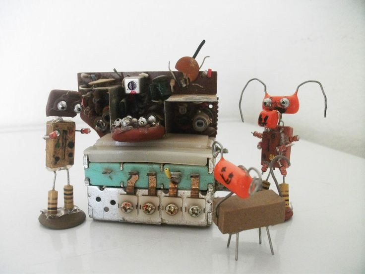 During the last few weeks, I have been seeing a lot of pictures of robots made out of old electrical components. There are so many great ideas out there, and it is such a great way to get some use …