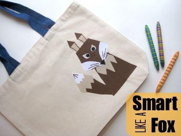 Book Bag: Smart like a Fox - https://sewing4free.com/book-bag-smart-like-fox/