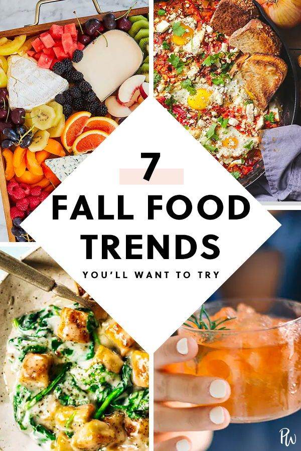 7 Food Trends That Are Going To Be Huge This Fall Food Trends Food Fall Recipes