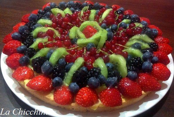 La Chicchina: Crostata di frutta per SIMONE