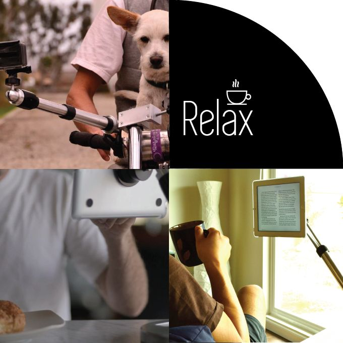 Ipad Mount   Photo Mount   Selfie Mount- The Most Over-Engineered Mount For Your Gadgets by Zen Mount — https://0220d6.kckb.st