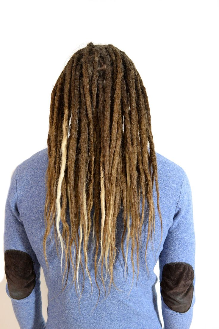 This is Daniel, I started his dreadlocks last summer and it's dreads on his own hair and with human hair extensions for length.  He came in for a touch up just before moving to California. I wish him all the best.