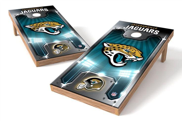 Jacksonville Jaguars Cornhole Board Set - Plate