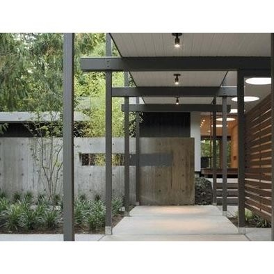 Modern Home Covered Walkway Design Pictures Remodel