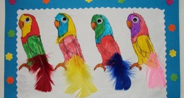 Okul Oncesi Papagan Sanat Etkinlikleri Okul Oncesi Egitici