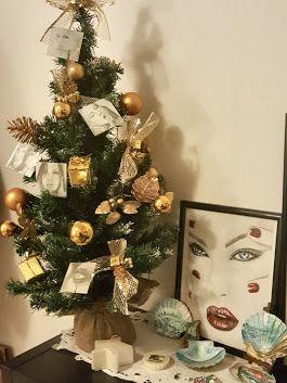 Buona serata ...il mio alberello artistico  - Tamara Ottaviani Art by Tamara - Google+