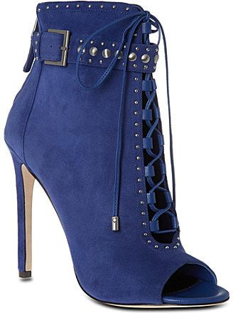 Brian Atwood ~ B BY Lamotte, suede ankle boots
