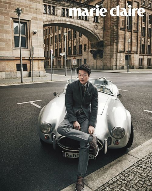 Kwon Sang Woo for Marie Claire Korea October 2015. Photographed by Park Jungmin