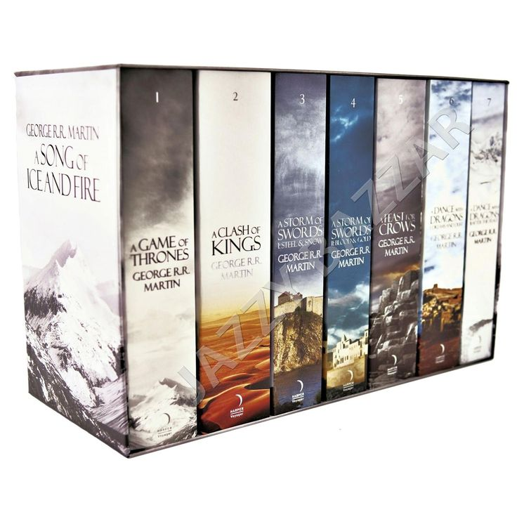 A Game OF Thrones Song OF ICE AND Fire 7 Books BOX SET BY George R R Martin NEW 0007477155 | eBay