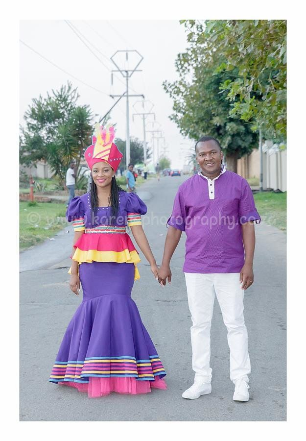 Sepedi Traditional Wedding outfit